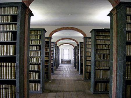 August Hermann Francke Bibliothek, Halle, Duitsland
