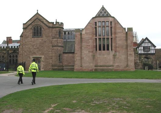 Het nieuwe gebouw van de Hereford Chained Library