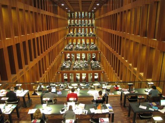 Humboldt Universiteit, Jacob und Wilhelm Bibliothek (Wikipedia)