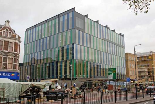 Ideastore = openbare bibliotheek Waterloo, Londen