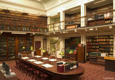Interieur Royal Irish Library, Dublin, Ierland