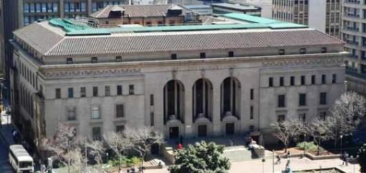 De openbare bibliotheek van Johannesburg in Zuid-Afrika