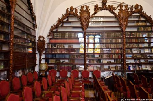 Wallenrodt bibliotheek in Kalingrad