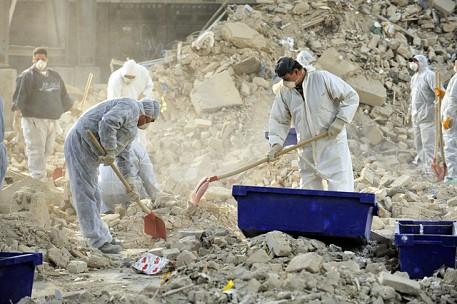 Opgravingen in het ingestorte stadsarchief van Keulen