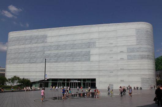 Nieuwe bibliotheek in Koblenz, in Forum Confluentes