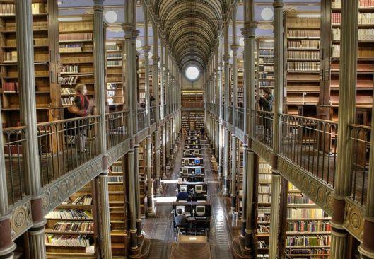 Interior University Library Copenhagen