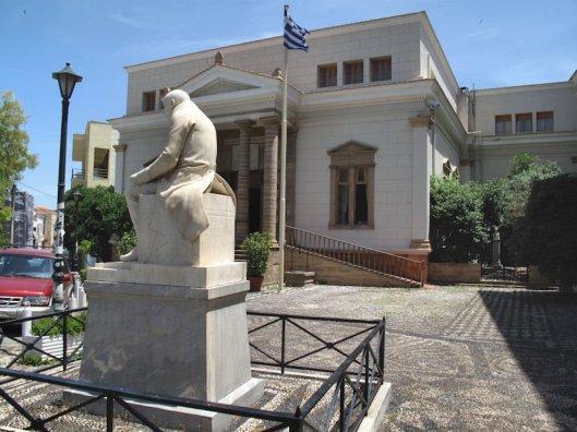 Korais library, Greece