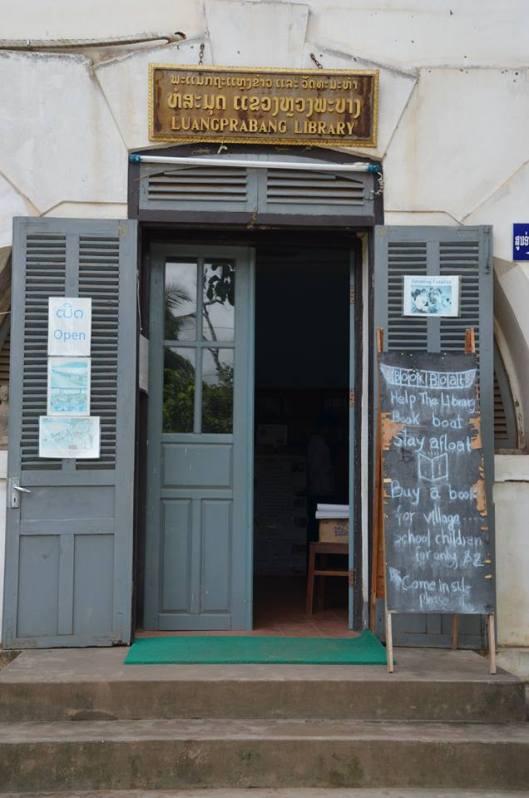 Openbare bibliotheek in Luangprabang, Laos (Bénédicte Stall Audebeau)