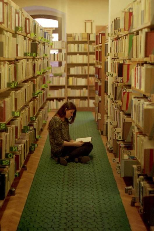 Lezen tussen boeken