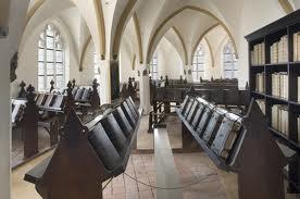 16e eeuwse librije in de Walburgiskerk te Zutphen