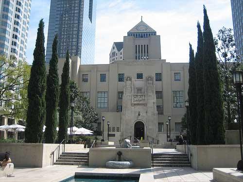 Centrale van Los Angeles Public Library, USA