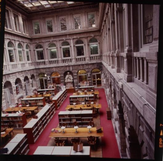Leeszaal Biblioteca Marciana, Venetië
