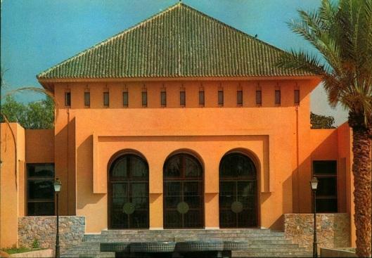 Bibliotheek van Marrakech, Marokko