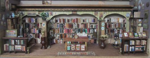 En in België vervaardigde minibibliotheek