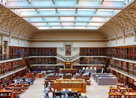 Mitchell Reading Room in State Library of New South Wales, Sydney