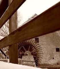 Friedesche molen met waterrad in Neer