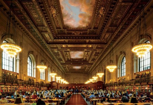 Hoofdleeszaal van de New York Public Library