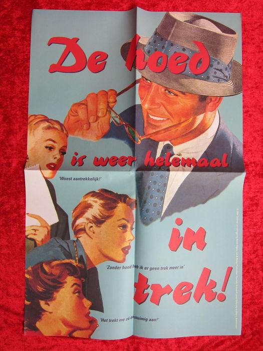 Affiche ontworpen door André Olgers (1953-2005)