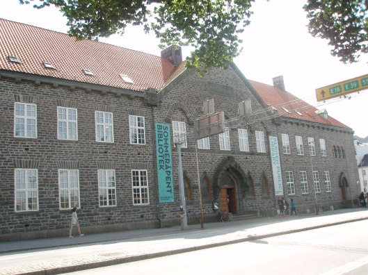 Openbare bibliotheek Bergen, Noorwegen