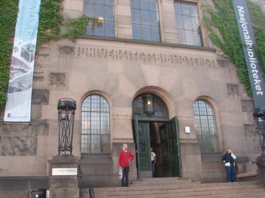 Hans Krol voor de Nationale Bibliotheek van Noorwegen in Oslo