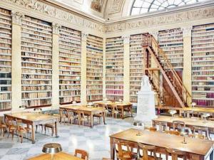 Biblioteca Palatina in Parma, gesticht in 1761