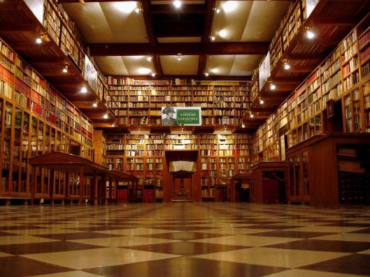 Museo dell Castell de Perelada, bibliotheek