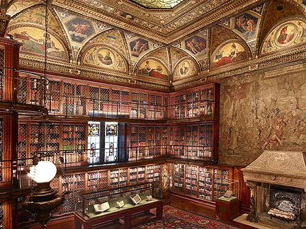 Interieur Pierpont Morgan Library, New York