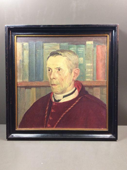 Geschilderd portret van Floris Prims