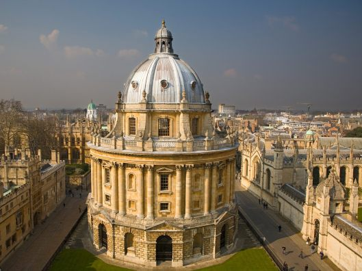 Radcliffe Camera, University library Oxford
