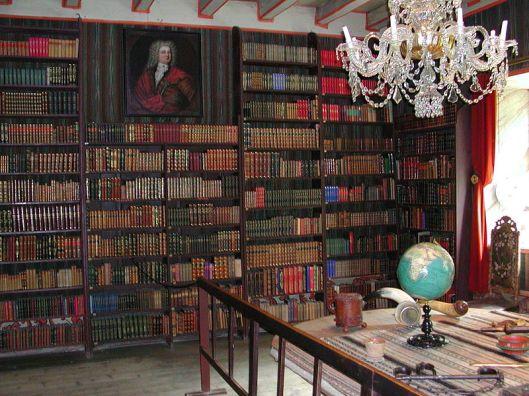 Kasteelbibliotheek Rosendal, Noorwegen