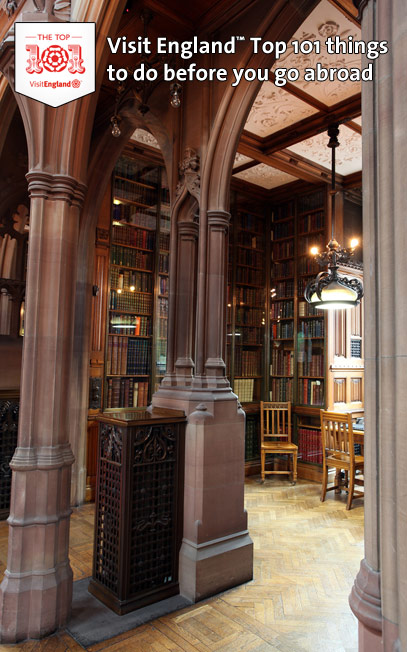 De John Rylands Library in Manchester