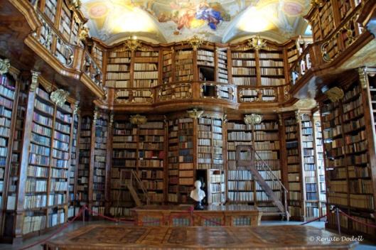 Kloosterbibliotheek Sankt Florian, Oostenrijk