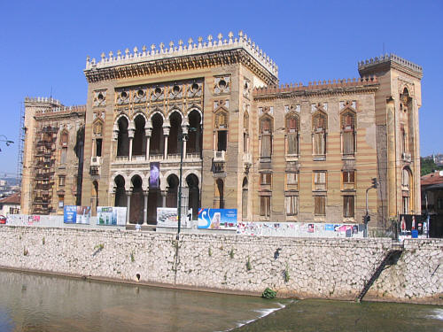 The National Library of Croatia before the Balcan war