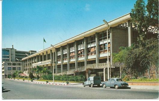 Nationale Bibliotheek van Algerije in Algiers