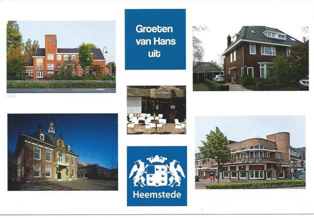 Mijn favoriete plekken in Heemstede op een ansichtkaart bijeengebracht