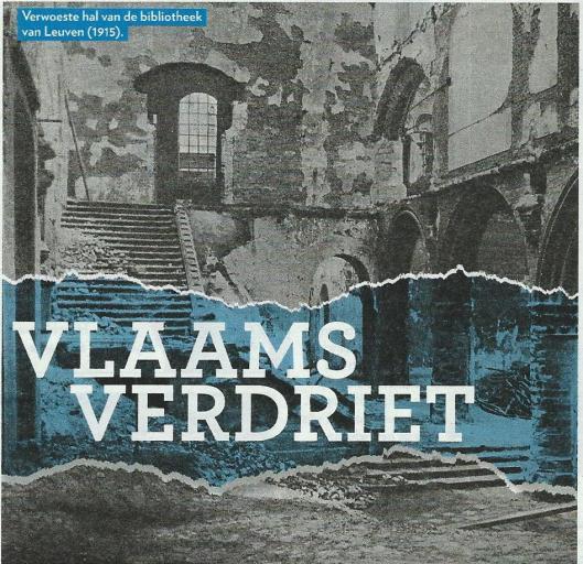 Vlaams Verdriet. Uit VARA Gids 15, 2014