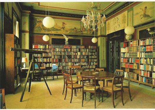 Bibliotheek Fluglsang in Toreby, Denemarken