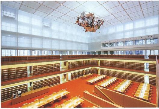 Nieuwe leeszaal van de Duitse Staatsbibliotheek, Unter den Linden (foto SBB-PK/J.Müller)
