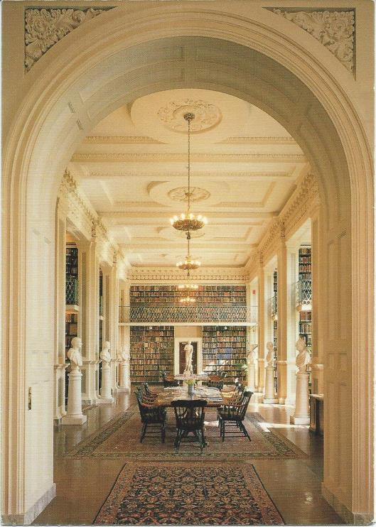 Boston Athenaeum Library