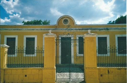Openbare Bibliotheek in Izamel, Mexico