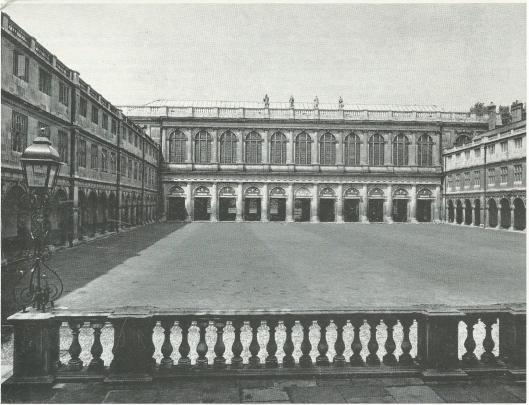 Trinity College Library in Cambridge, ontworpen door architect Wren tussen 1676 en 1695