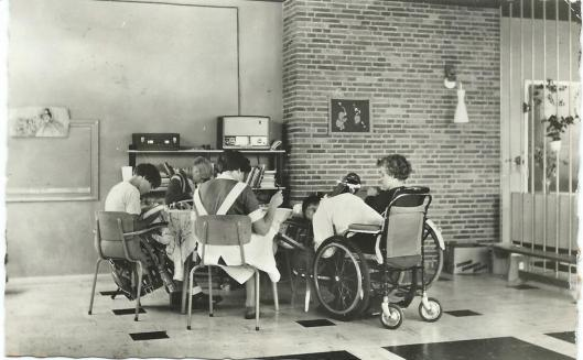 Leesuurtje in een verpleeghuis te Arnhem