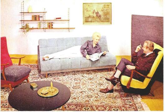 Lezen in 'The Golden Fifties' (uitgave van Plaizier, België)