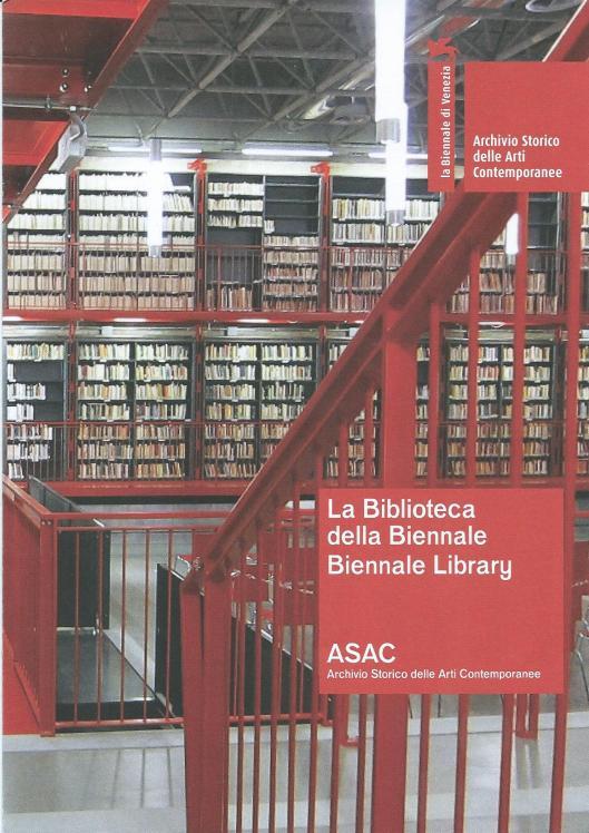 La Biblioteca della Biennale, Venezia