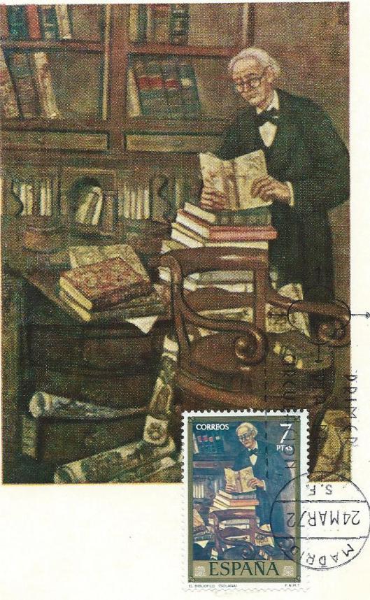 Jose Gutierrez Solano: El bibliofilo (Spanje)