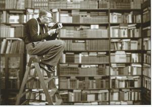 Bookworm (foto FStop/GlowImages)