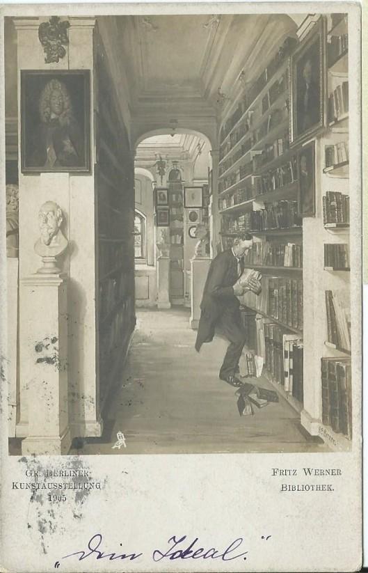 Fritz Werner (1827-1908): Bibliothek