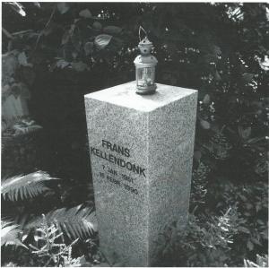 Grafmonument Frans Kellendonk (1951-1990), begraafplaats Zorgvliet, Amstelveen