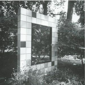 Grafmonument Annie M.G.Schmidt (1911-1995) op begraafplaats Zorgvliet, Amstelveen