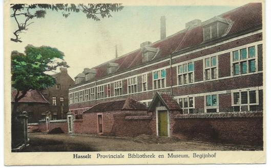 Ansichtkaart van Provinciale Bibliotheek Hasselt
